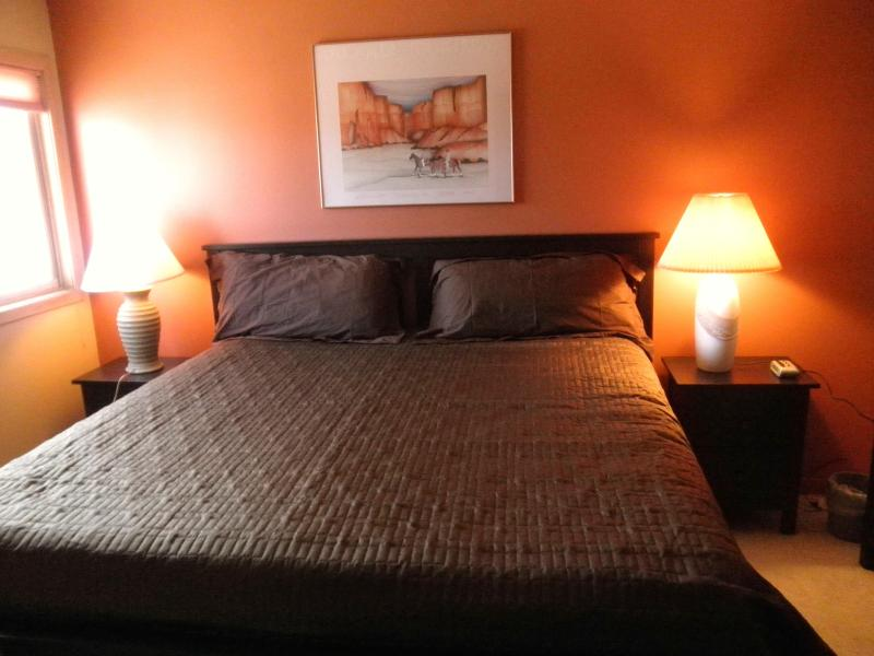 Master Bedroom - King Bed - Mountain Views, close to Summit County ski areas - Silverthorne - rentals