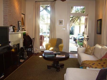 Living Room - 2 BR Gard. D. Condo - F Quarter fest/both Jazz F. - New Orleans - rentals