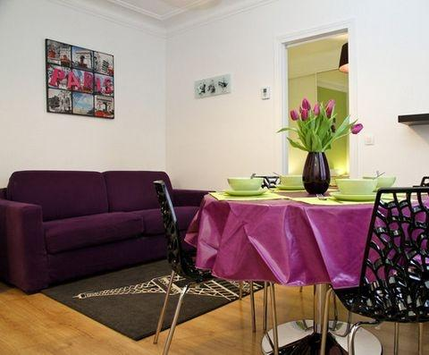 Modern flat up to 4 guests - Montmartre Paris3 - Image 1 - Paris - rentals