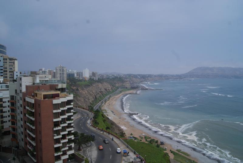 View from our Condo - Oceanfront with outrageous views! on the Malecon - Lima - rentals