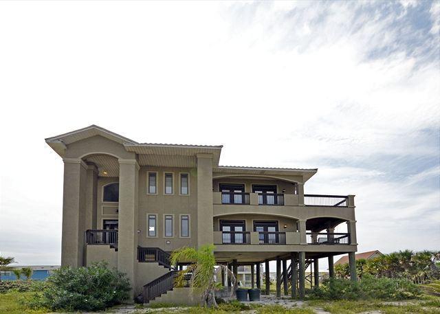 Street View of Home - 806 Via Deluna Drive - Pensacola Beach - rentals