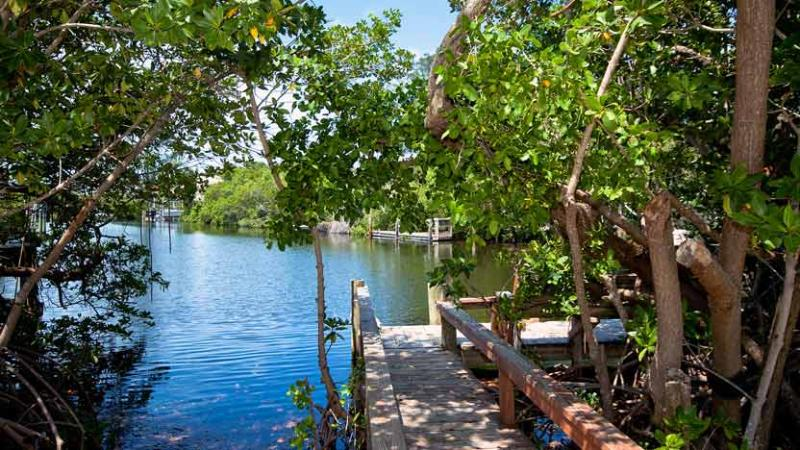 Your Own Private Dock - Light House: 2BR/1BA Canal-Front Home with Dock - Anna Maria - rentals