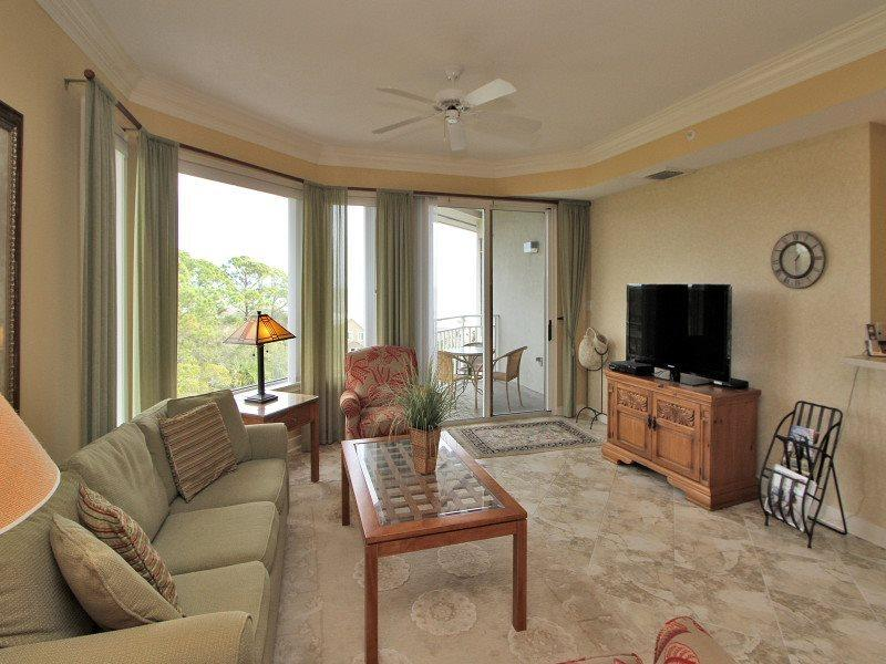 Living Room at 2501 Sea Crest - 2501 Sea Crest - Hilton Head - rentals