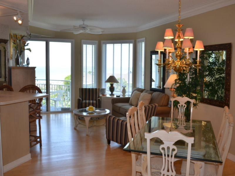 Living Room with Ocean View at 2506 Sea Crest - 2506 Sea Crest - Hilton Head - rentals
