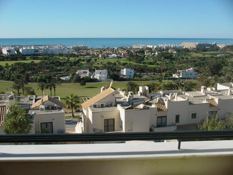 "Relaxing view from the terrace - ** Penthouse-duplex ""Brussels"" in Almerimar ** - Almerimar - rentals"