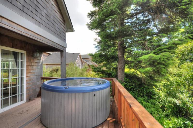 Pet-friendly with a private hot tub on nature's preserve - Image 1 - Rockaway Beach - rentals