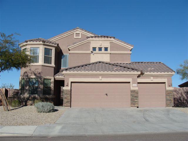 Front of House - Estrella Mountain Ranch Luxury Villa - Goodyear - rentals