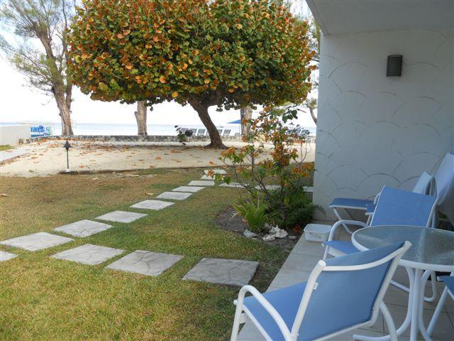 view of ocean from patio - Villas of the Galleon-7 mile beach - George Town - rentals