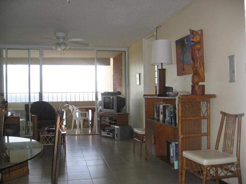 Living Room Overlooking the Atlantic - Super Condo on the Prettiest Beach in Puerto Rico - Luquillo - rentals