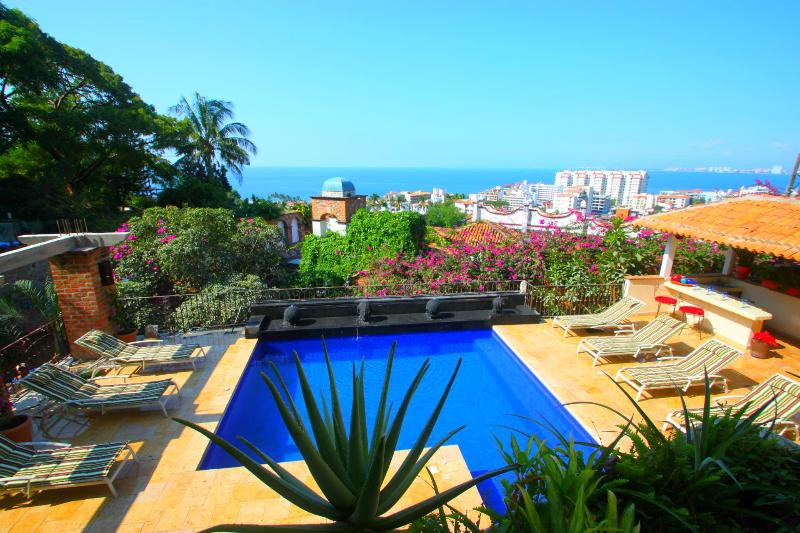 Exclusive 9 Bd Private Villa, pool, Ocean Views - Image 1 - Puerto Vallarta - rentals