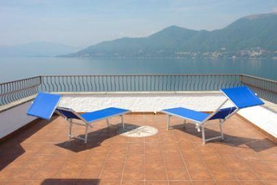 Penthouse overlooking Lake Maggiore - Image 1 - Brezzo di Bedero - rentals