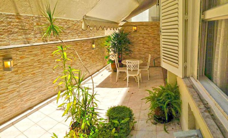 Leblon Courtyard 1 Bedroom - Image 1 - Rio de Janeiro - rentals