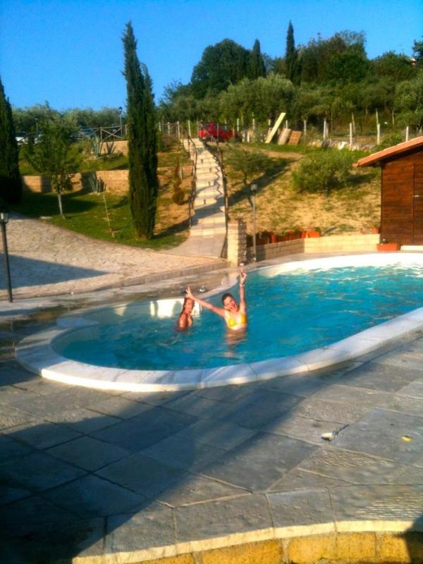 Pool - Allaquercia b&b - Rome - rentals