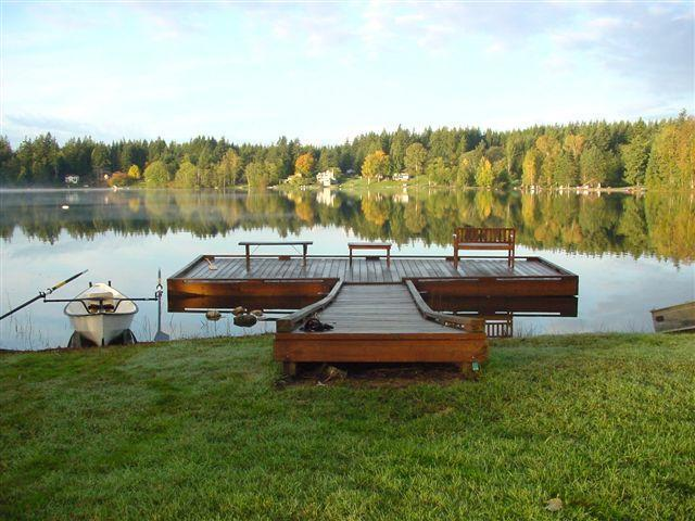 A calm autumn morning on Deer Lake - Beautiful WaterFront House on Whidbey Island Free - Clinton - rentals