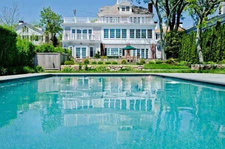 GRAND WATERFRONT ESTATE WITH POOL ON EDGARTOWN HARBOR - EDG NRAN-31 - Image 1 - Martha's Vineyard - rentals