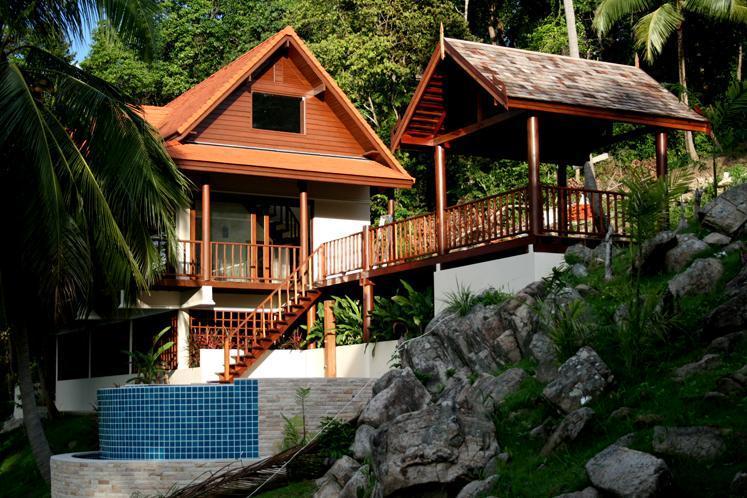 Impressive Villa with pool set in lovely gardens - Image 1 - Koh Phangan - rentals