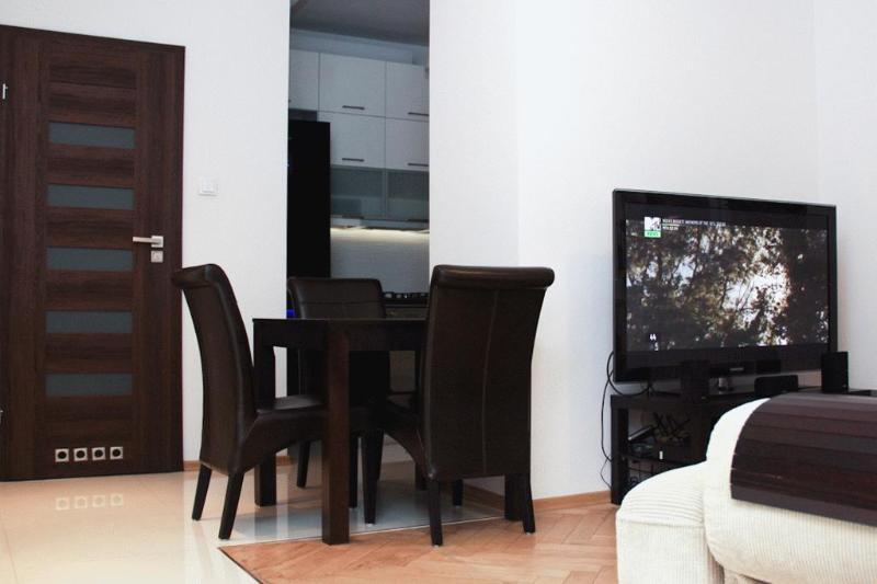 Living room - Apartament One - Warsaw - rentals