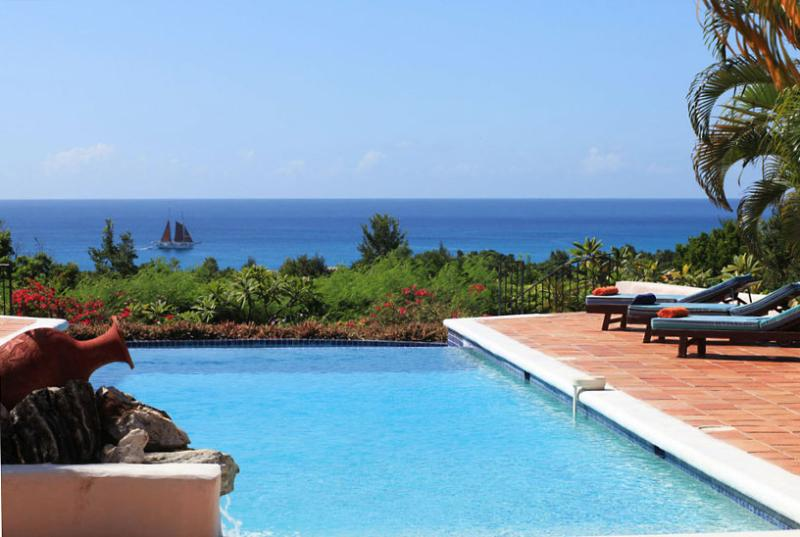 SPECIAL OFFER: St. Martin Villa 81 A Classic French West Indies Villa With A Great Relaxing Ambiance Provided By Its Luxurious Mediterranean Style. - Image 1 - Terres Basses - rentals