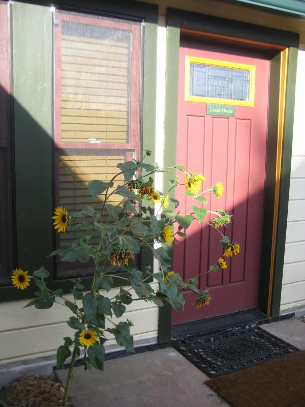 Lhasa House Front Door - Lhasa House at Chakra Garden - Ashland - rentals