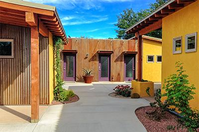 View of the Courtyard - The Entrada at Westside Flats, Moab Utah - Moab - rentals