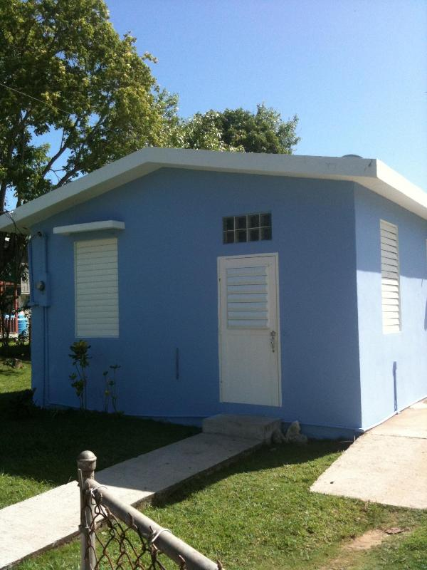 Front view of Andrea's House - Andrea's House Rental in Vieques - Isla de Vieques - rentals