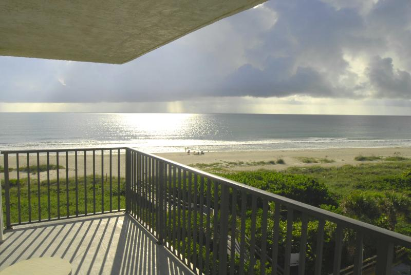 Direct oceanfront views from private wrap-around balcony - Penthouse - Amazing Corner Unit - Oceanfront - Cape Canaveral - rentals