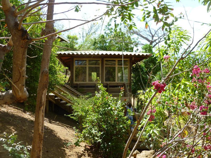 Casa Malinche: 3 pine eco-houses, perched on a hill - Casa Malinche, Playa Remanso, San Juan del Sur,  Nicaragua - San Juan del Sur - rentals