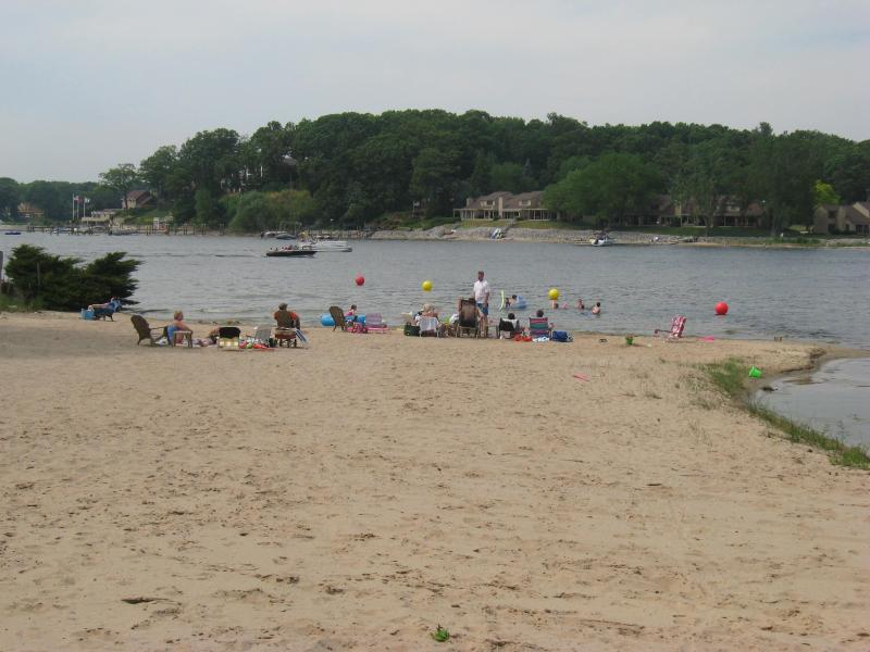 Spring Lake--private sandy beach for association - Coles Park Cottage @ Spring Lake - Spring Lake - rentals