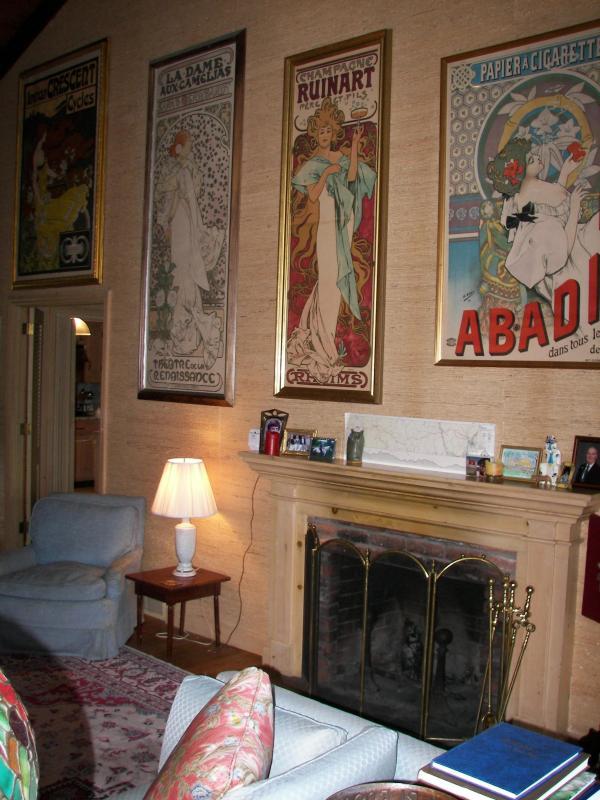 Living Room - Lookout Farm - Woodstock - rentals