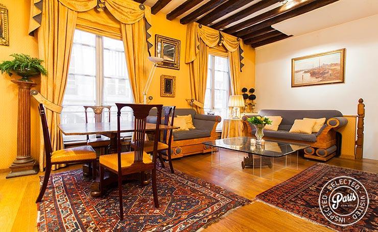 Saint Germain 2 Bedroom Apartment Nest in Paris - Image 1 - Paris - rentals