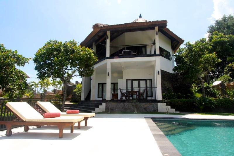 Front view Villa Mente - Villa Mente: New Luxury Villa with Amazing Views! - Lovina - rentals