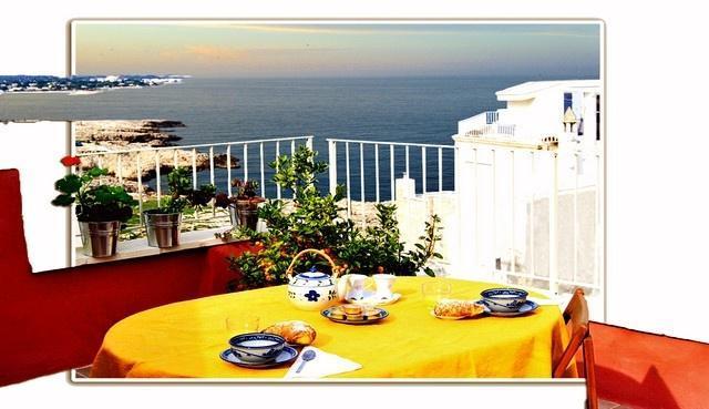 roof terrace overlooking the sea - Casamare bed & breakfast - Ambiente MARE - Polignano a Mare - rentals