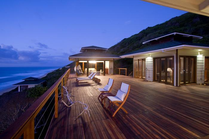 Main deck - Casa Dunas - Home in the Dunes - Mozambique - rentals