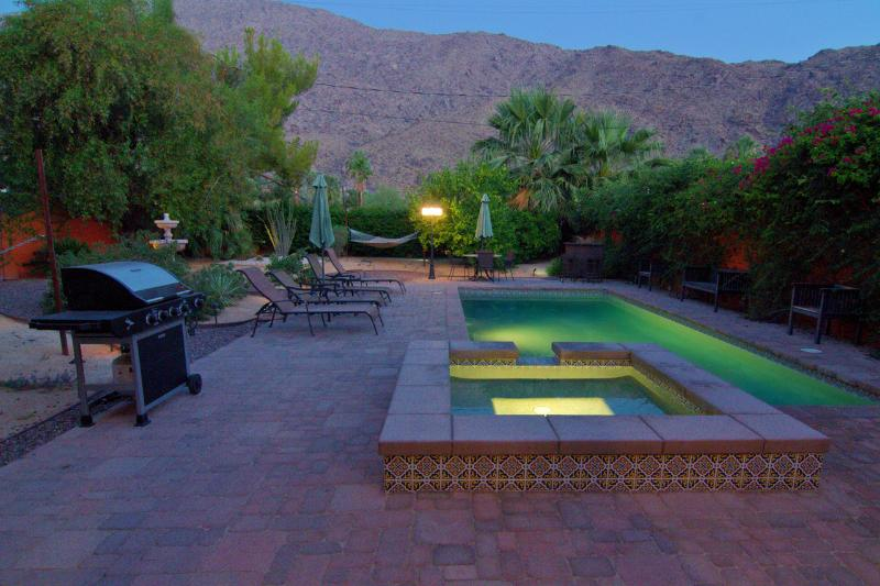 Salt Water Pool & Spa - La Casita - Palm Springs - rentals