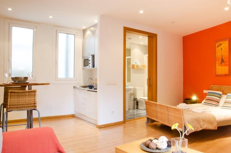 Sunny studio in Ribera - Barri Gòtic Barcelona 39 - managed by travelingtolisbon - Image 1 - United States - rentals