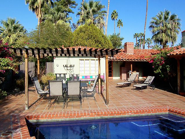 Yard - Palmera Villa - Palm Springs Tranquil Get-away - Cathedral City - rentals
