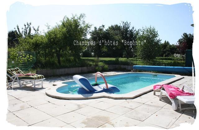 swimming pool - Chambres d'hôtes situées dans une ancienne ferme. - La Celle-Guenand - rentals