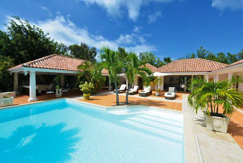SPECIAL OFFER: St. Martin Villa 88 Lounge Around The Crystal Clear Pool In Complete Privacy, And At Night You Will Want To Gaze At The Stars. A Very Romantic Place. - Image 1 - Terres Basses - rentals