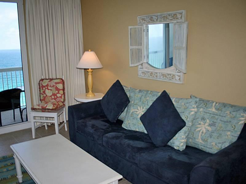 Peaceful 1 Bedroom with Gulf Front Pools at Seychelles - Image 1 - Panama City Beach - rentals