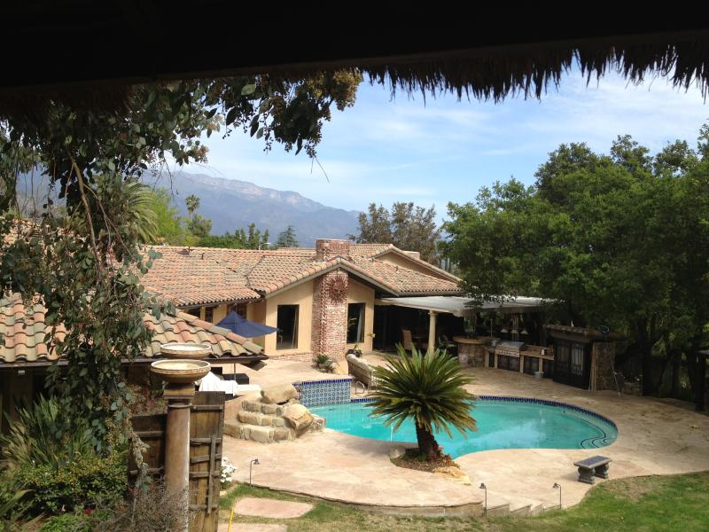 View from Treehouse - Luxurious Private Villa in Beautiful Ojai CA - Ojai - rentals