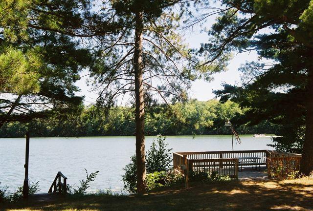 The View.. - Lemens Lodge on Long Lake - - Sarona - rentals