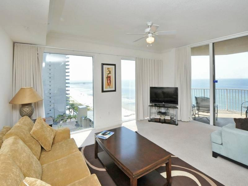 Breathtaking Sunset Views from Private Balcony at Tidewater Beach - Image 1 - Panama City Beach - rentals