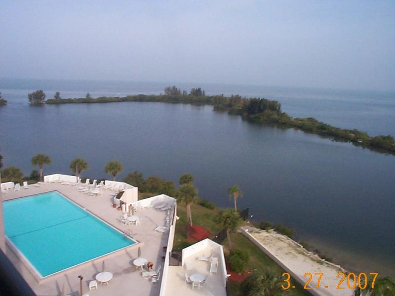 View from the Condo Balcony - Gulf Island Beach & Tennis Club - Hudson - rentals