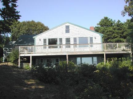 Looking up at Deck / Back of House - South Chatham Cape Cod Vacation Rental (4182) - Chatham - rentals