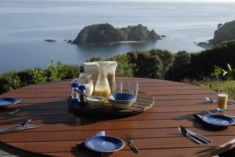 View from deck - Chillout  Taiwawe Lodge - Whangarei - rentals