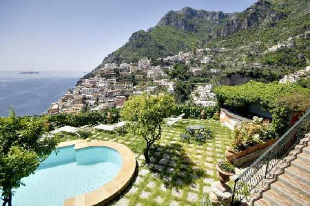 Villa Affresco - Stunning villa with pool & views of Positano and the gulf, 500 metres to the beach - Image 1 - Positano - rentals
