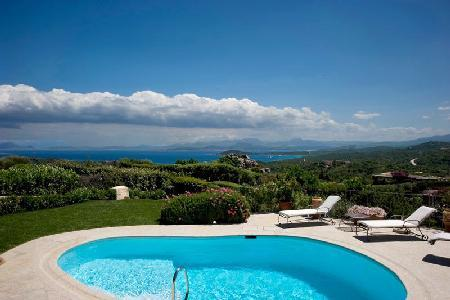 Alice - Stylishly furnished villa with pool, guest house & fabulous views - Image 1 - Olbia - rentals