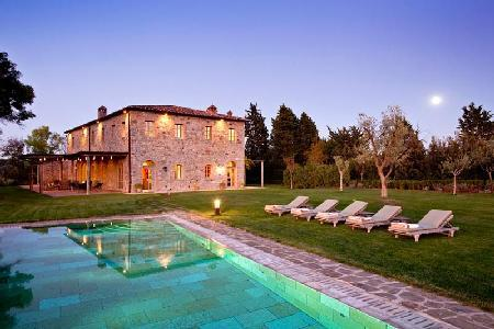 Casa Biondi perfect for groups, bordering Castiglion del Bosco golf course with heated pool - Image 1 - Montalcino - rentals
