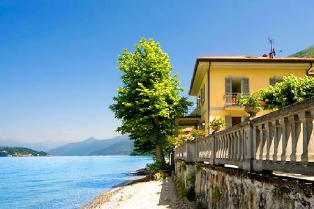 Peaceful Beachfront Villa Chicca on Lake Como - 2 Minute Walk to town of Lezzeno - Image 1 - Lezzeno - rentals