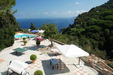 Villa Colonnina - Modern villa with large terraces, beautiful gardens & pool - Image 1 - Capri - rentals